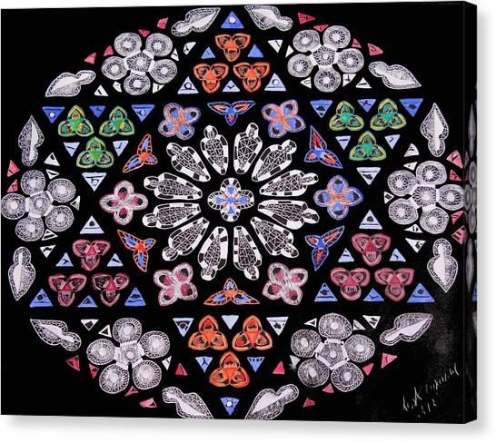 Mandala Of Hope Phase 2 Canvas Print