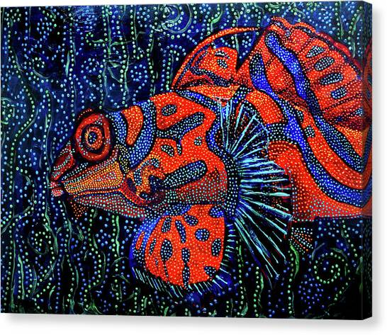 Dreamtime Mandarin Canvas Print