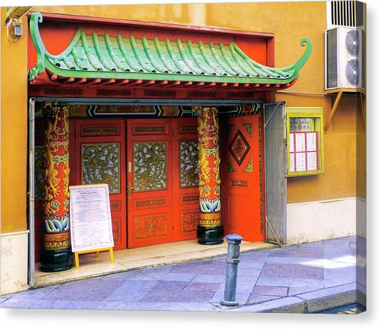 Chinese Restaurant Canvas Print - Mandarin Mexico by Dominic Piperata