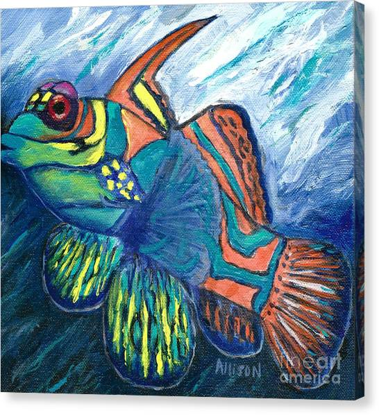 Mandarinfish Canvas Print