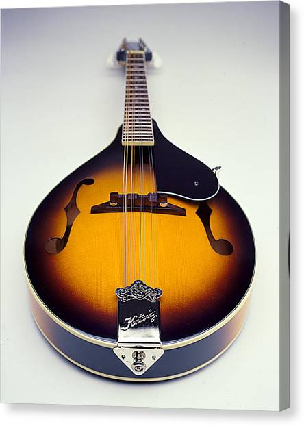 Mandolins Canvas Print - Mandolin  by Robert Ponzoni