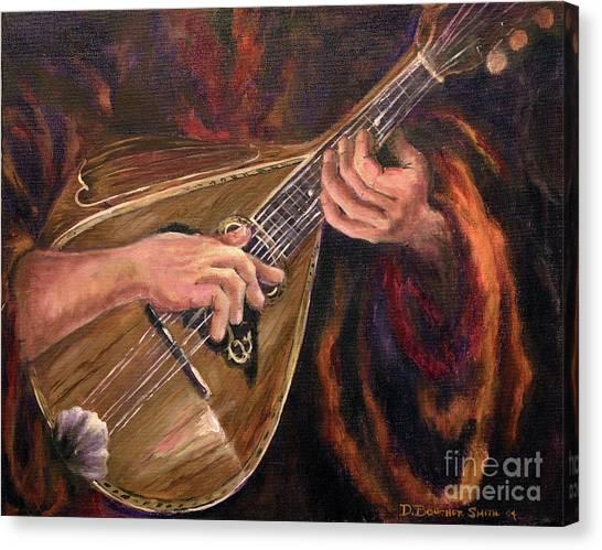 Mandolin Canvas Print by Deborah Smith