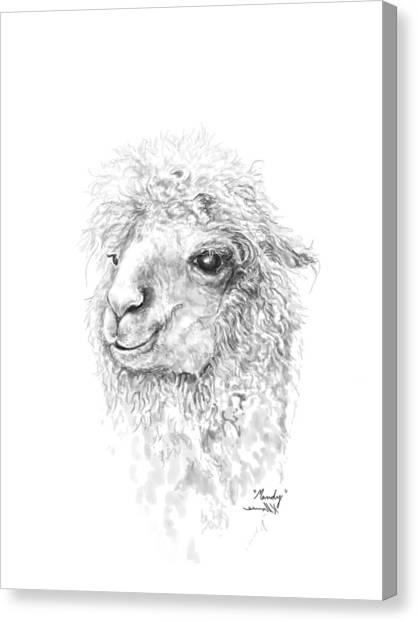 Canvas Print - Mandy by K Llamas