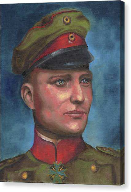 Manfred Von Richthofen The Red Baron Canvas Print