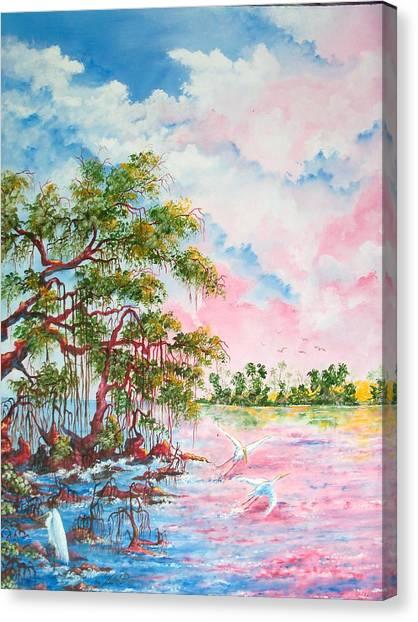 Mangroves Canvas Print by Dennis Vebert