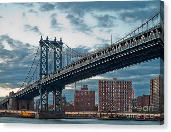 Big East Canvas Print - Manhattan Classic by Az Jackson
