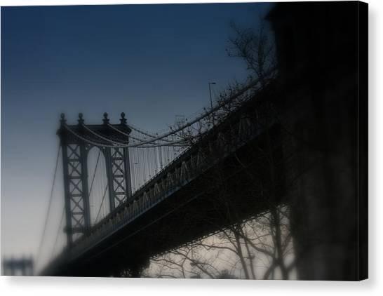 Manhattan Dreamin' Canvas Print by Susan Crittenden