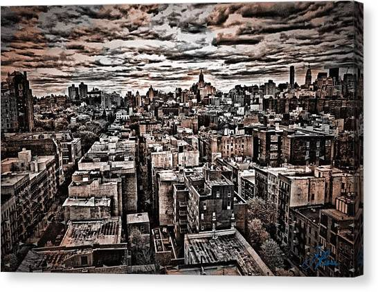 Manhattan Landscape Canvas Print