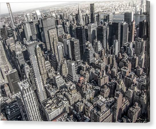 Manhattan Canvas Print - Manhattan by Nicklas Gustafsson