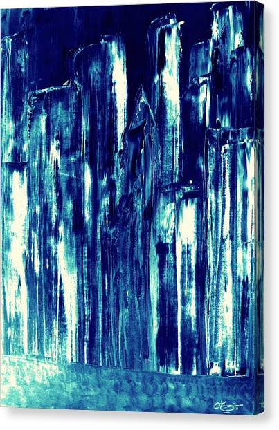 Manhattan Nocturne Canvas Print