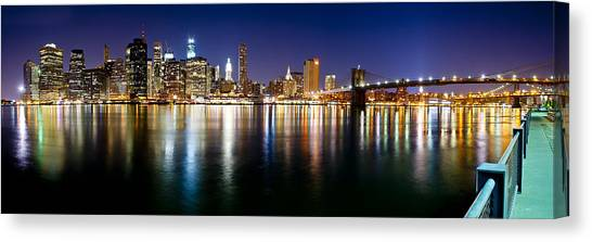 Manhattan Skyline - Southside Canvas Print