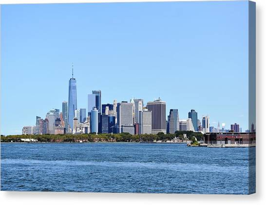 Manhattan Skyline 1 Canvas Print