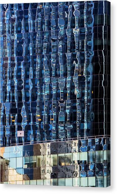 Manhattan Windows Canvas Print