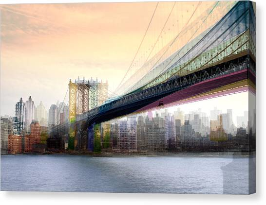 Manhattan X3 Canvas Print