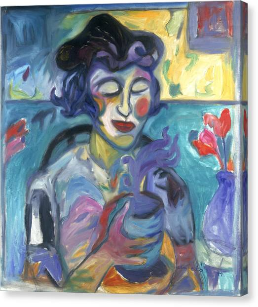 Rennaissance Art Canvas Print - Manic Mocha by Mykul Anjelo