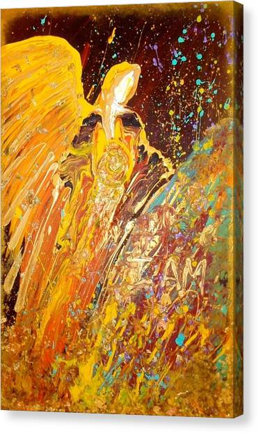 Manifesting Angel Canvas Print