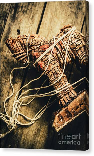 Greek Art Canvas Print - Manipulating The Trojans  by Jorgo Photography - Wall Art Gallery