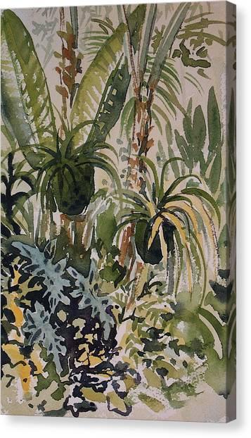Manito Greenhouse Canvas Print