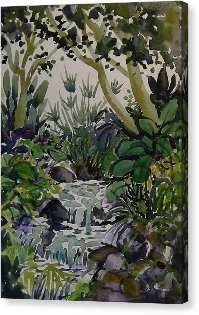 Manito Stream Canvas Print