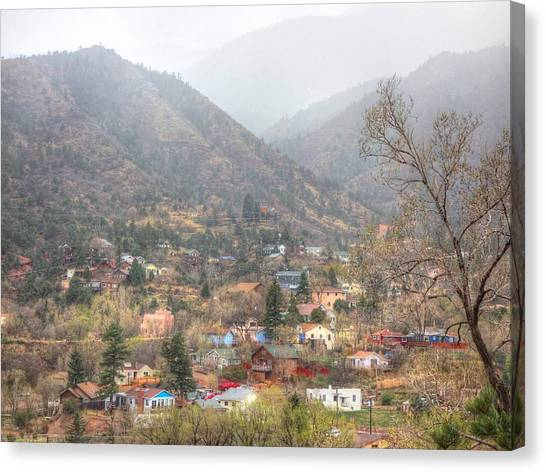 Manitou To The South Iv Canvas Print