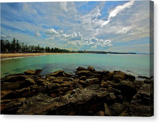 Manly Bliss Canvas Print