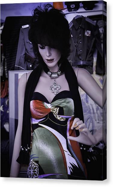 Fleas Canvas Print - Mannequin Fashion by Garry Gay
