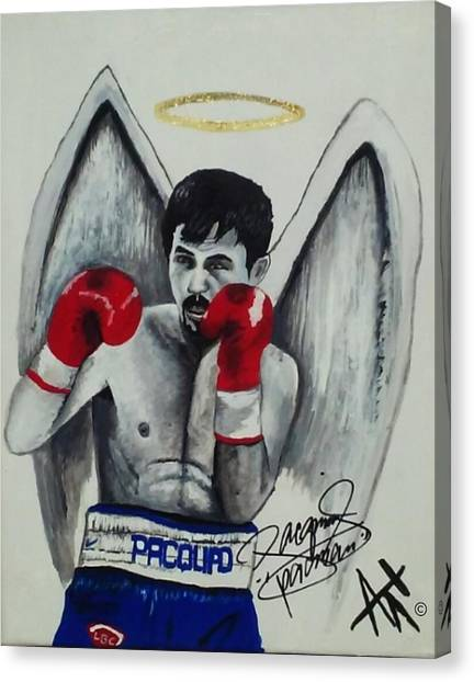Manny Pacquiao Canvas Print - Manny Pacquiao by Ant