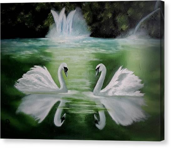Monogamy Canvas Print
