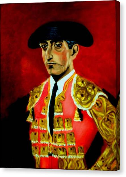 Manolete  Canvas Print
