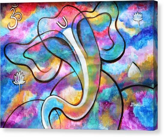 Manomay-ganesha  Canvas Print