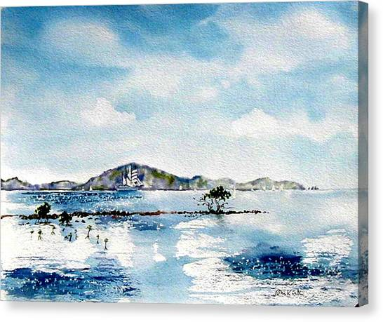 Manuel Reef Canvas Print
