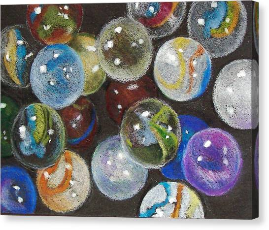 Many Marbles Canvas Print by Joyce Geleynse