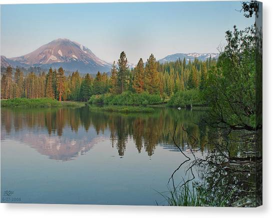Manzanita Lake Canvas Print