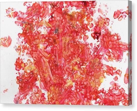 Maple Leaf Art Canvas Print - Maple Gold by Antony Galbraith