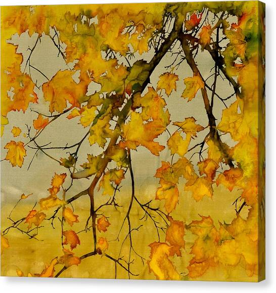 Maples In Autumn Canvas Print