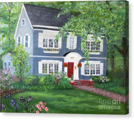 Maplewood Colonial Canvas Print