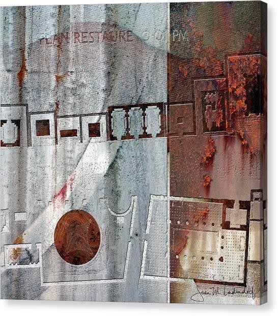 Maps #20 Canvas Print