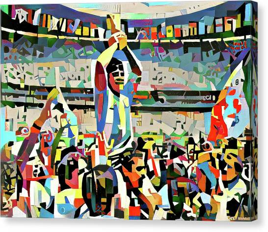 Diego Maradona Canvas Print - Maradona by ArtMarketJapan