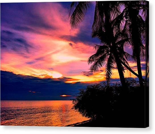 Sunset Horizon Canvas Print - Maravilloso by Julita Pietrzyk