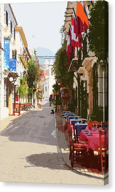 Marbella, Andalusia - 03 Canvas Print by Andrea Mazzocchetti