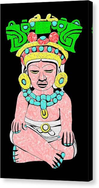 Marble Maya Canvas Print