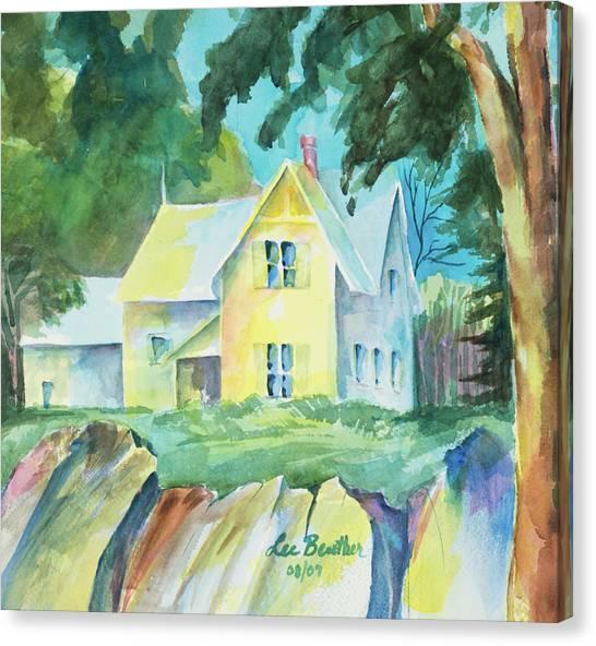 Marblehead Cottage Canvas Print