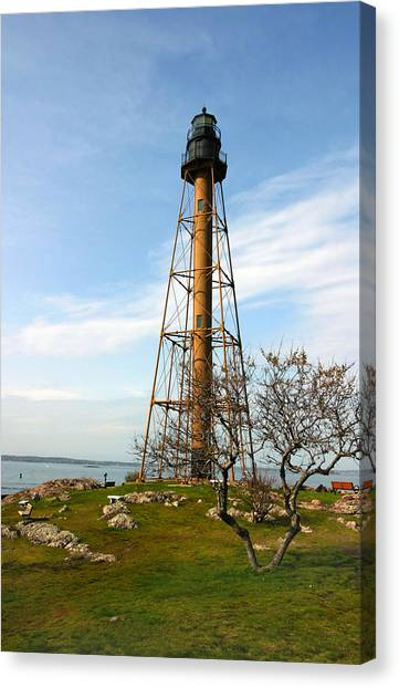Marblehead Light Canvas Print