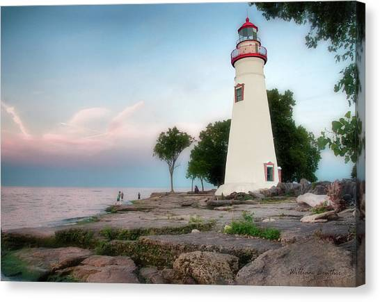 Marblehead Lighthouse Canvas Print