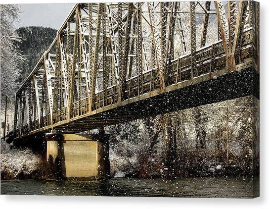 Marblemount Wa Bridge Canvas Print