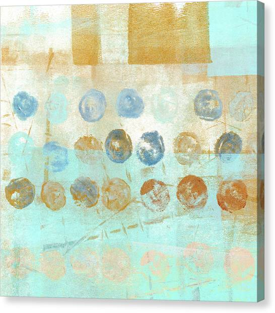 Dots Canvas Print - Marbles Found Number 1 by Carol Leigh