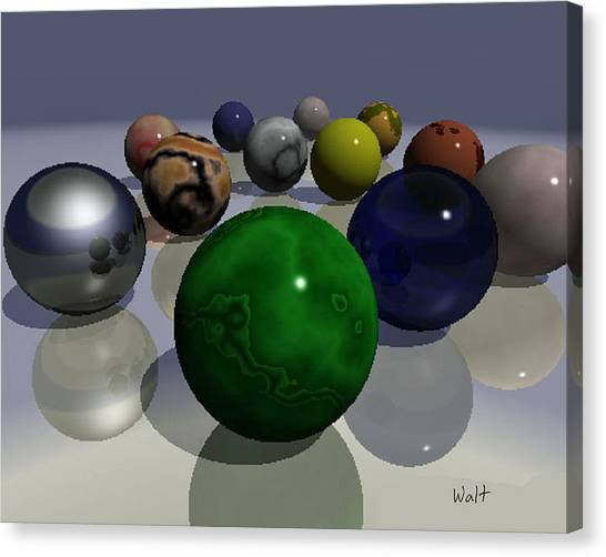 Marbles Canvas Print