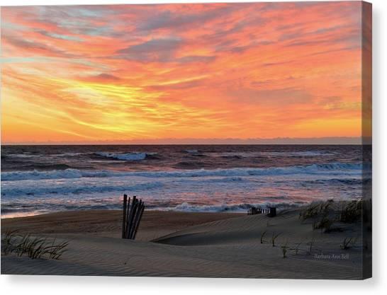 March 23 Sunrise  Canvas Print