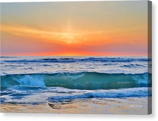 March Sunrise 3/6/17 Canvas Print