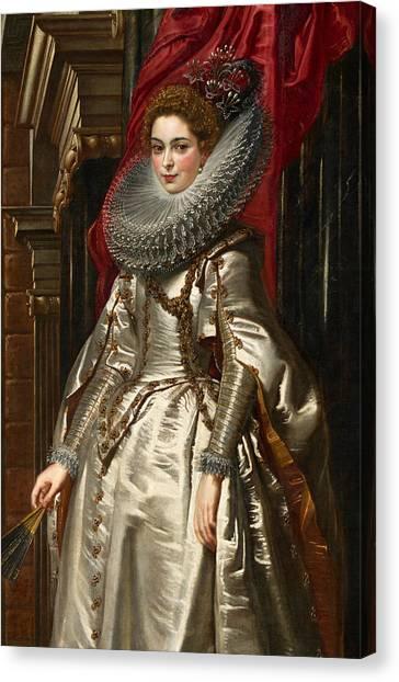 Baroque Art Canvas Print - Marchesa Brigida Spinola Doria by Peter Paul Rubens